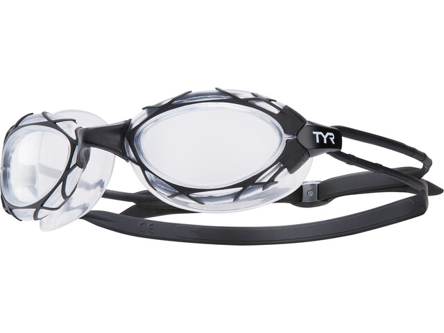 TYR Nest Pro Goggles black/clear